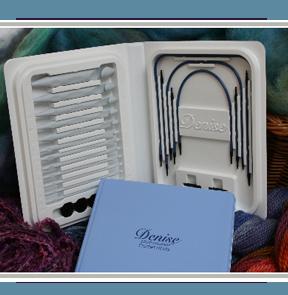 Denise Interchangeable Knitting Needles - KnittingHelp.com